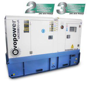 UKC55ECO-LR 55kVA Long Run Generator