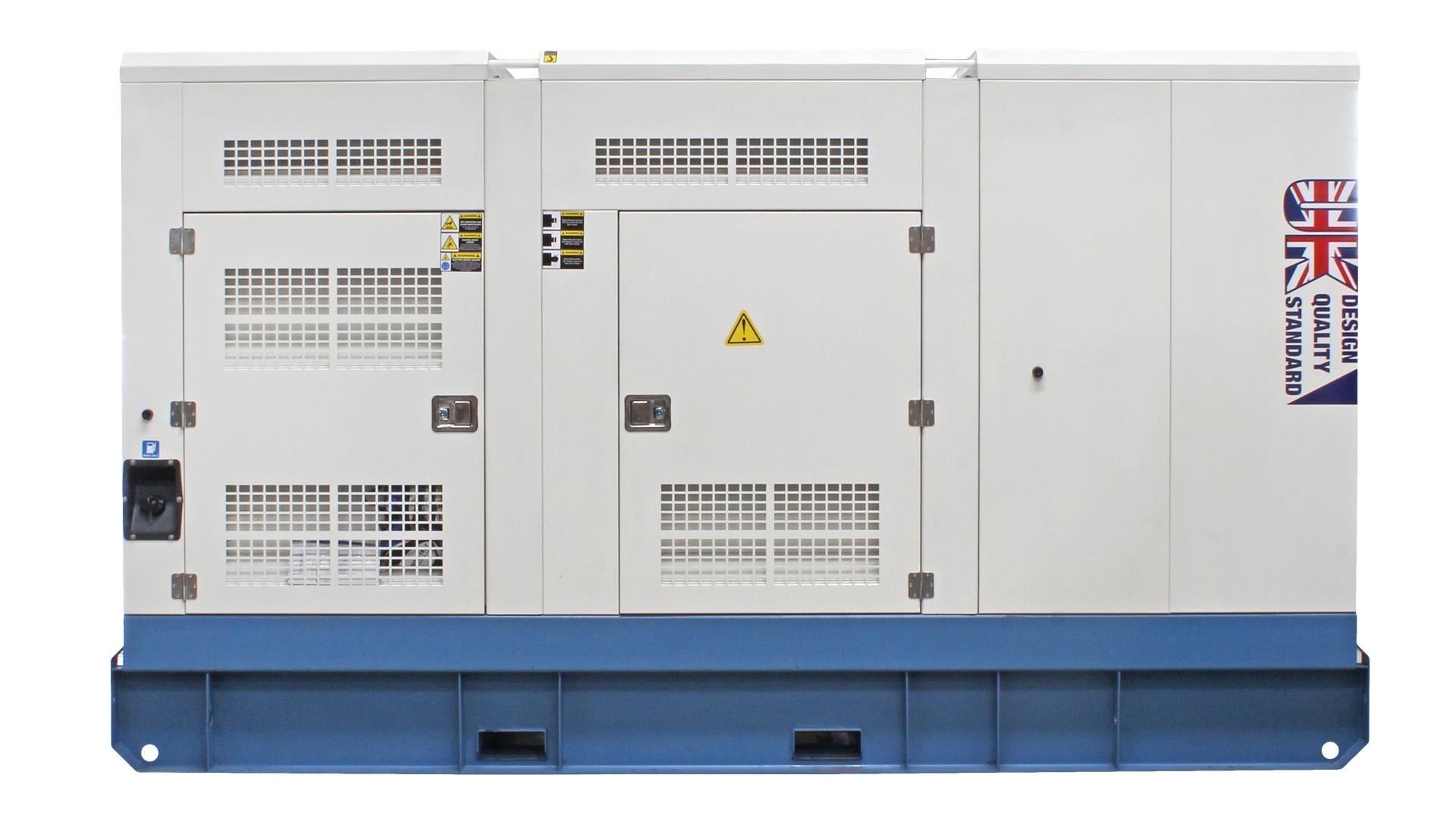 UKC360ECO Cummins Powered Generator Rear Image Flat On