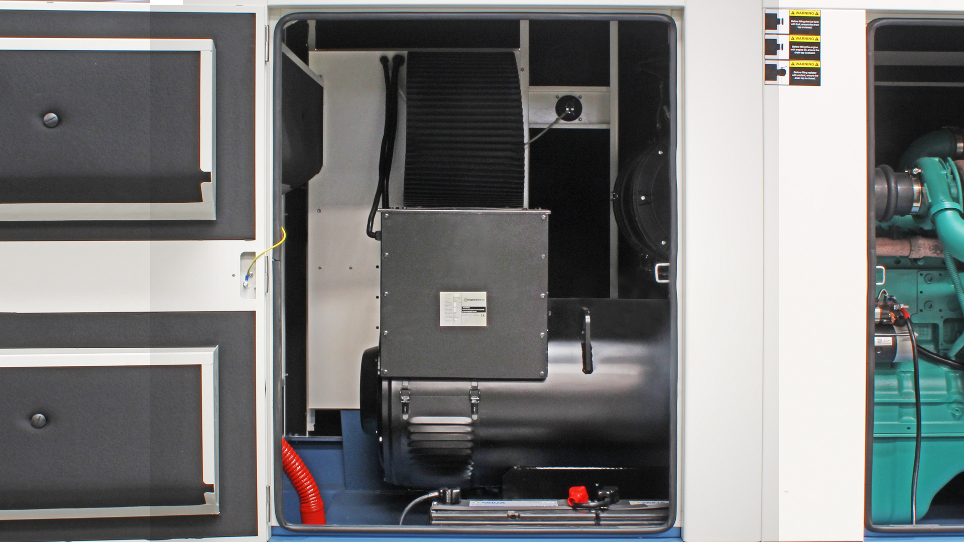 360kVA alternator within cummins powered generator
