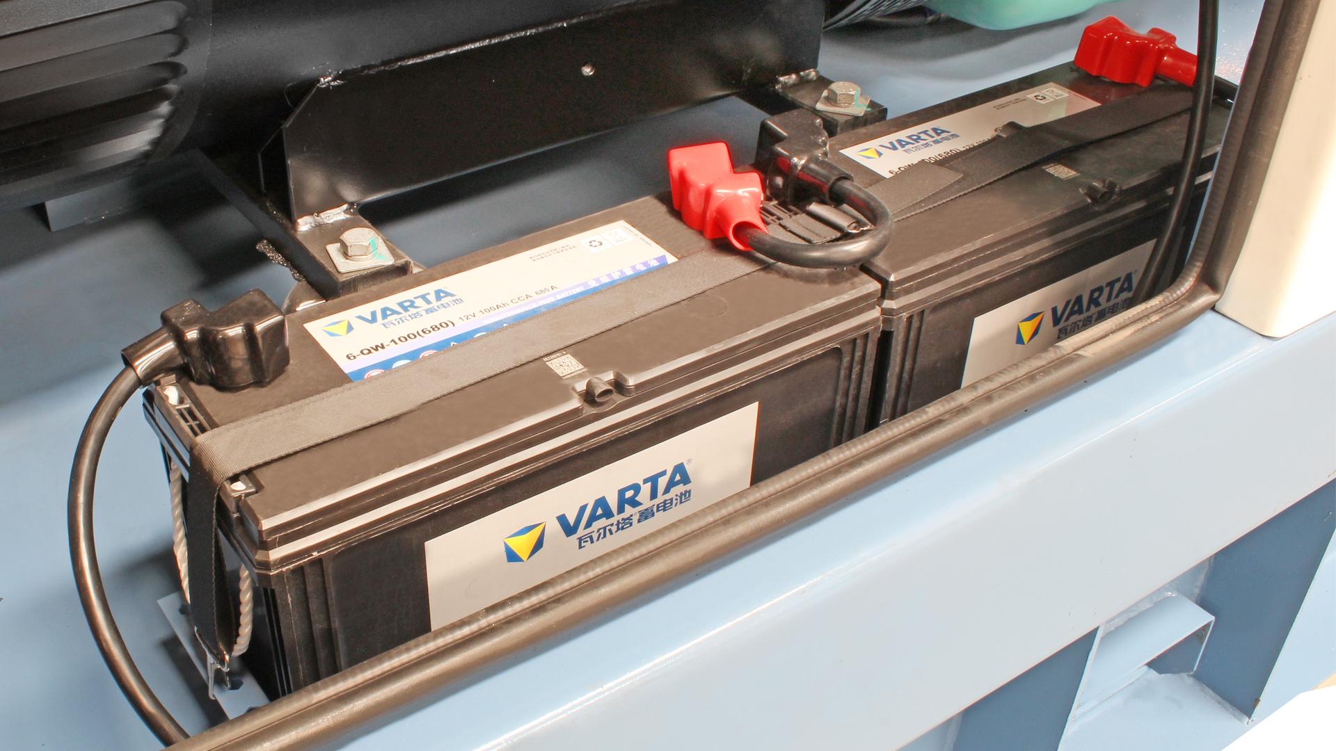 Varta 24 Volt Start System on Cummins powered generator sets