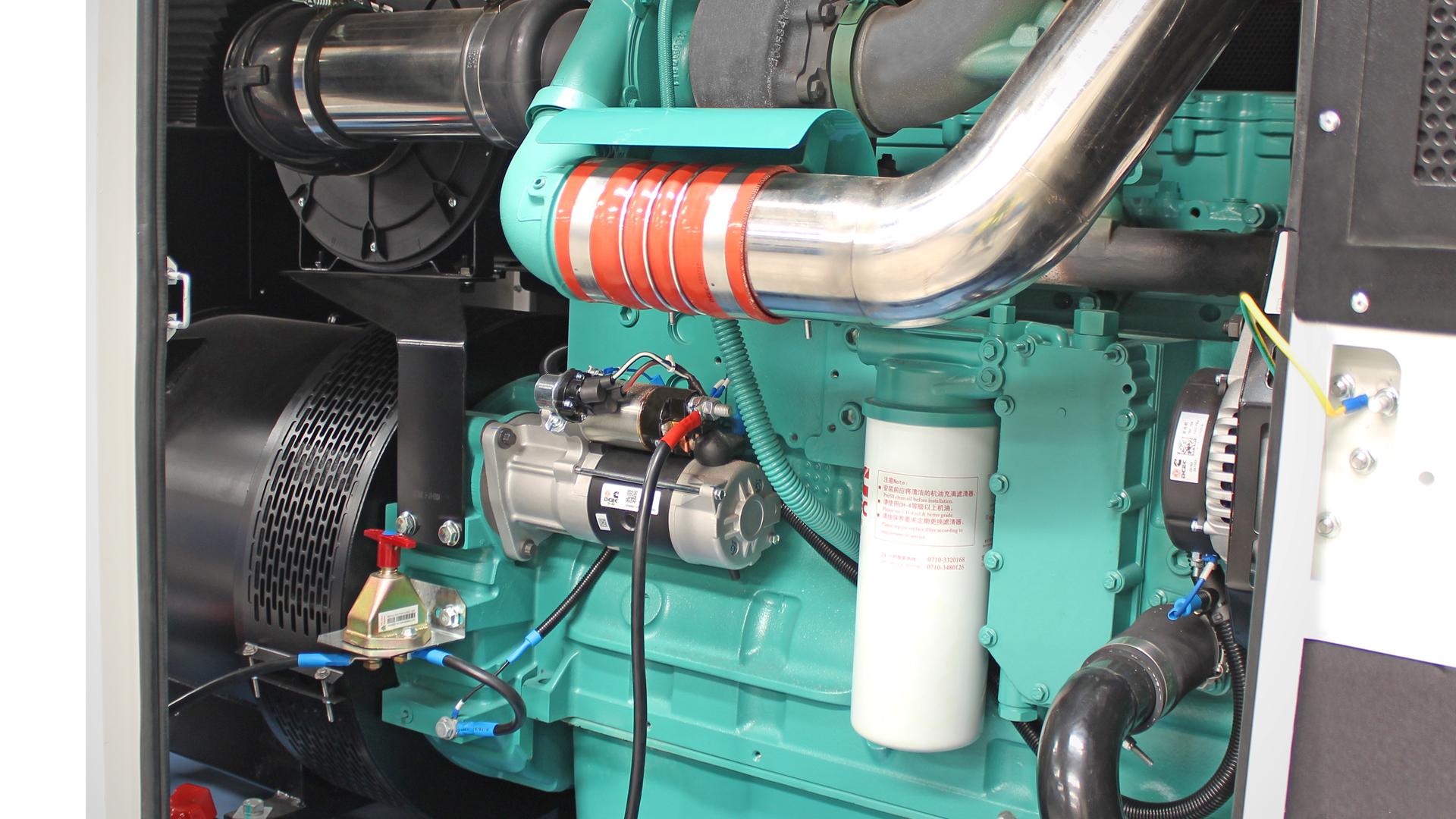 Cummins Engine on 360kVA and 300KVA Evopower Range