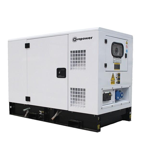 EVO9KSEm 11kVA generator rear view