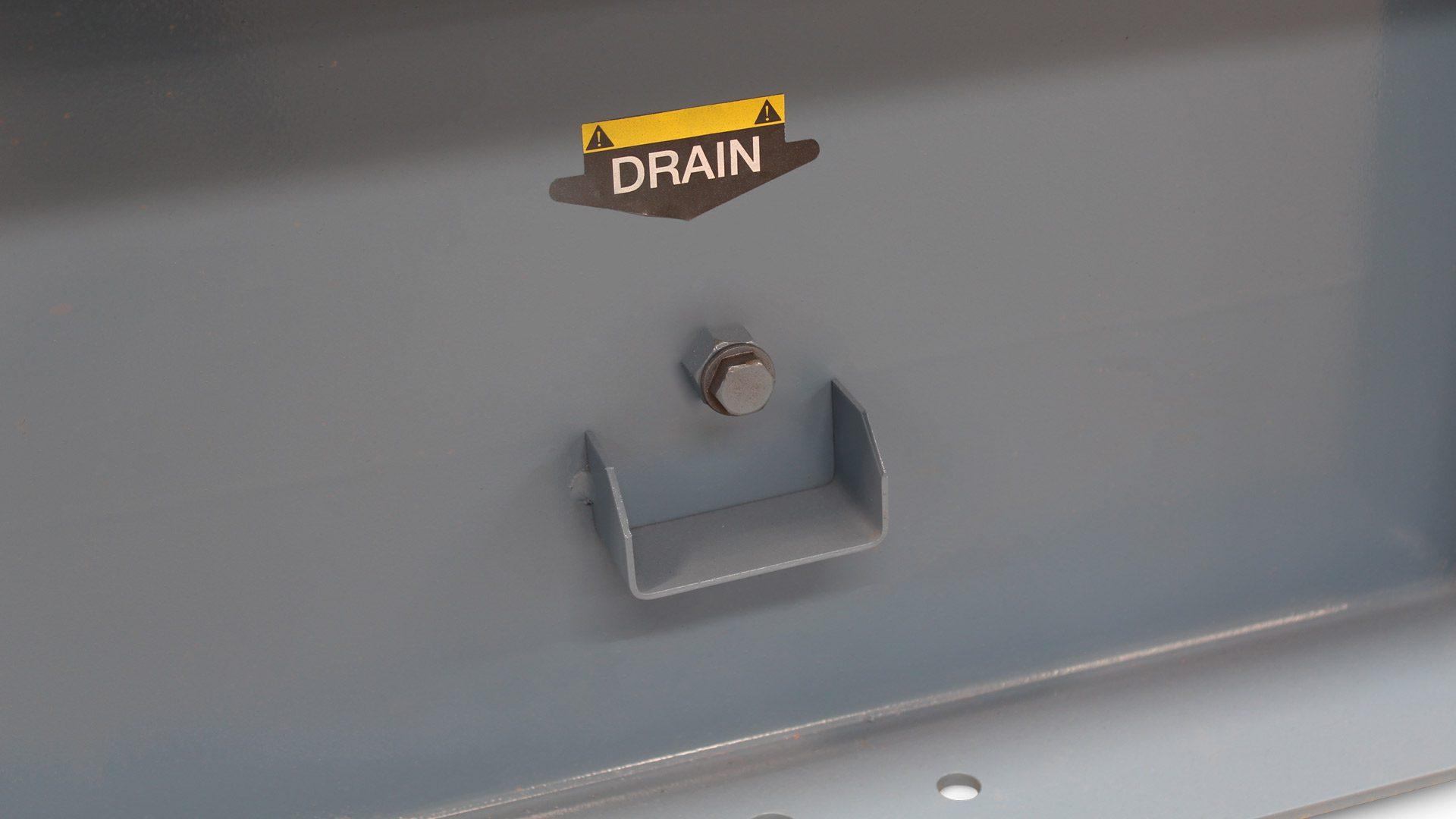 Drain on Evopower generator