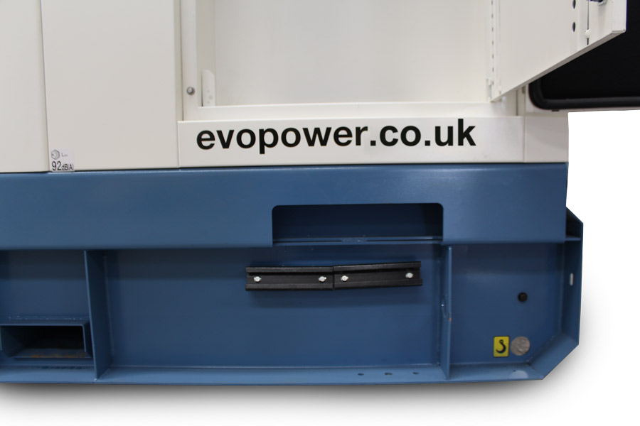 Cable entry on 360kVA & 300kVA Evopower generators