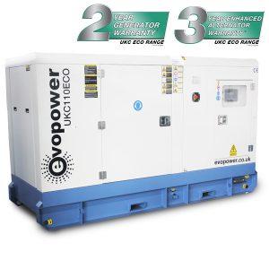 UKC110ECO 110kVA Diesel Generator