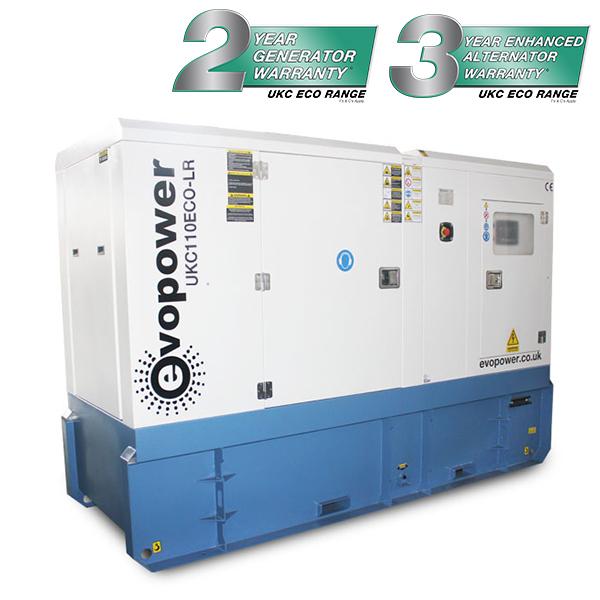 UKC110ECO-LR 110kVA long running Cummins Powered Generator