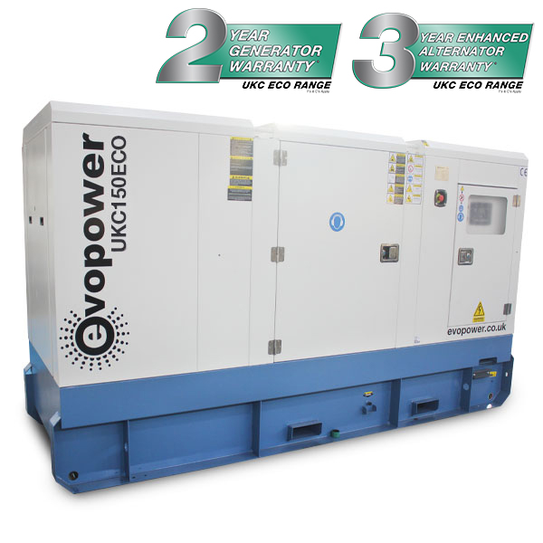 UKC150ECO 150KVA Cummins Powered Diesel Generator
