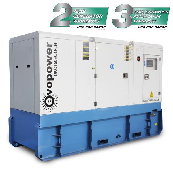 150kVA Long Run Cummins Powered Generator UKC150ECO-LR