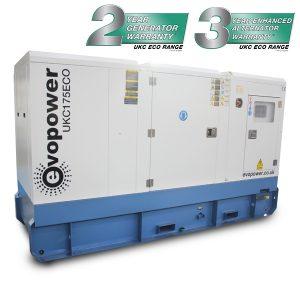 UKC175ECO 175kVA slow running Diesel Generator Main Image