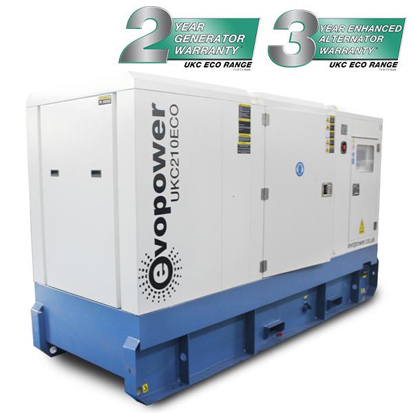 200kVA - 210kVA Cummins Powered Diesel Generator