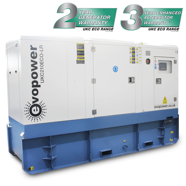 UKC210ECO-LR Long run diesel generator