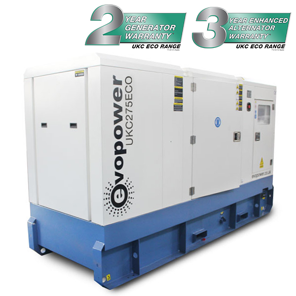 UKC275ECO 275kVA diesel Generator with Cummins engine