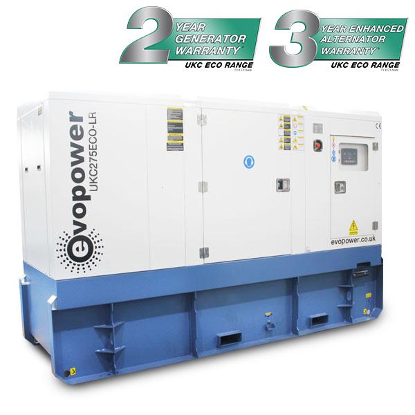 UKC275ECO-LR 275kVA 1500rpm diesel Generator