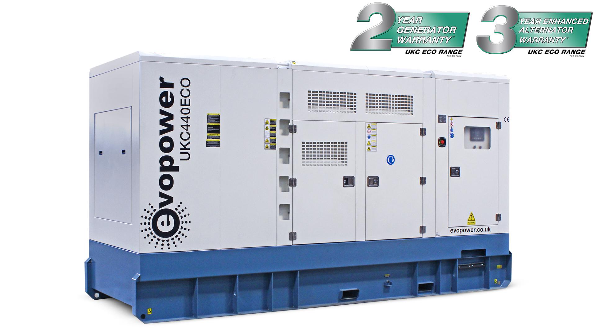 UKC440ECO-LR 440kVA Diesel Generator Main Image