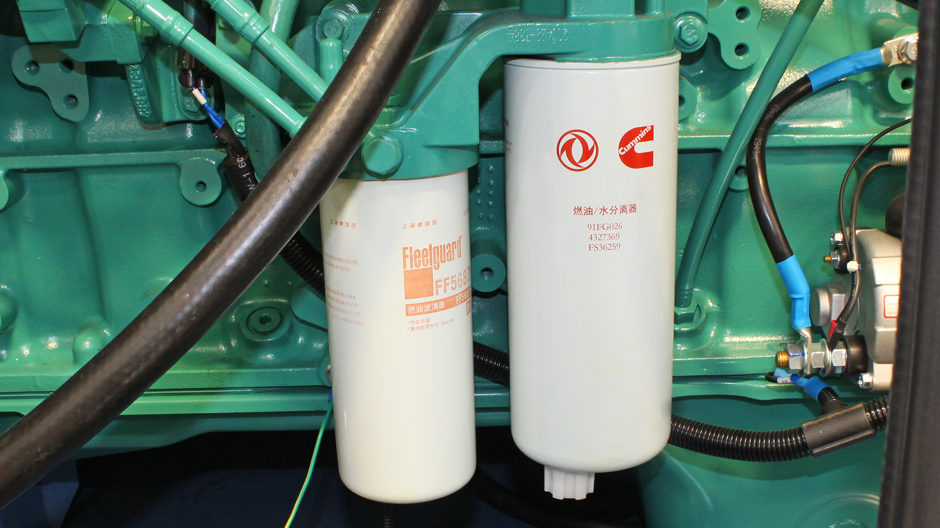 Filters for 400, 440, 450, 500kVA Cummins Powered Diesel Genset by Evopower