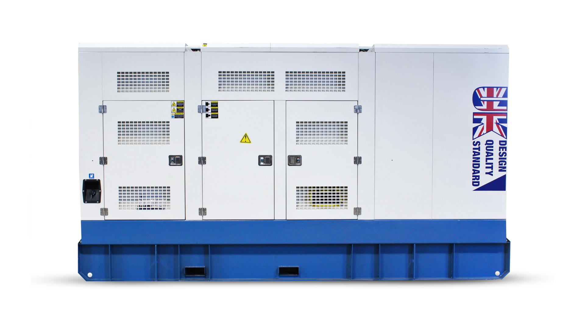Evopower diesel generator rear view