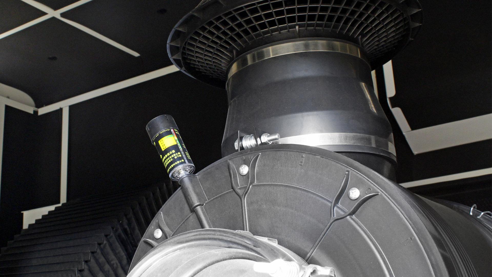 Turbo Pressure Gauge on Evopower Generators with Cummins 6ZTAA13 engine