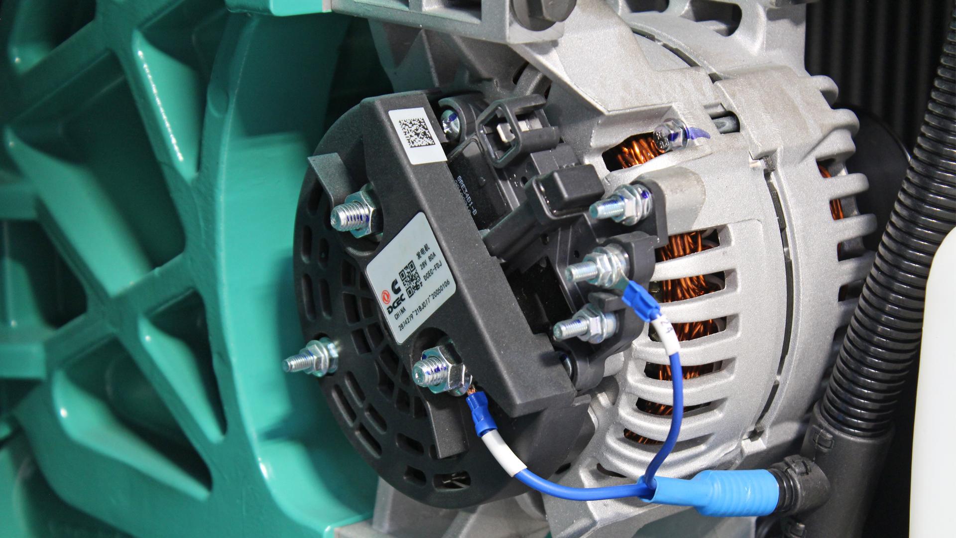Cummins 6ZTAA Engine Battery Alternator