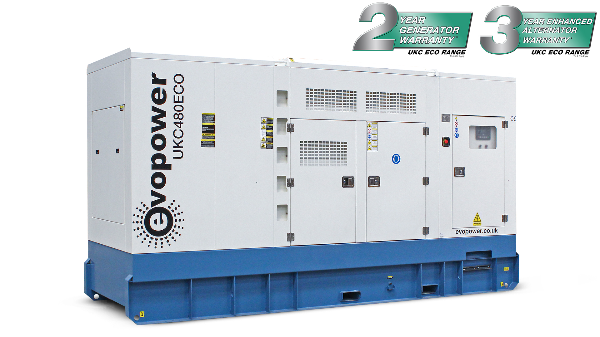 UKC480ECO-LR 480kVA Diesel Generator Main Image