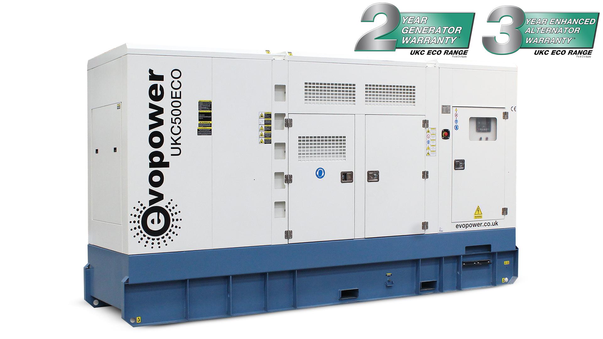 UKC500ECO 500kVA Diesel Generator Main Image