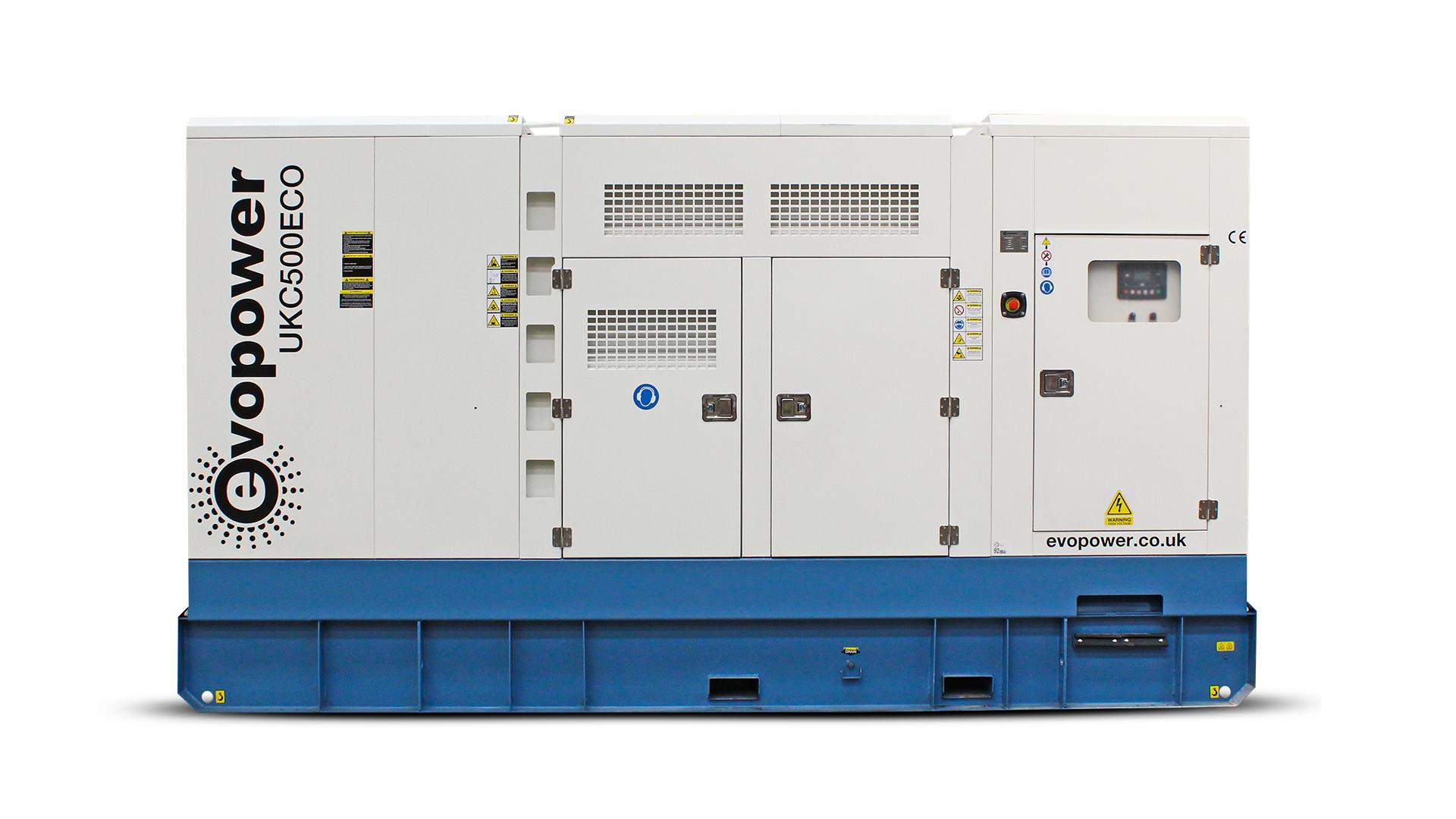 UKC500ECO 500kVA Generator front view