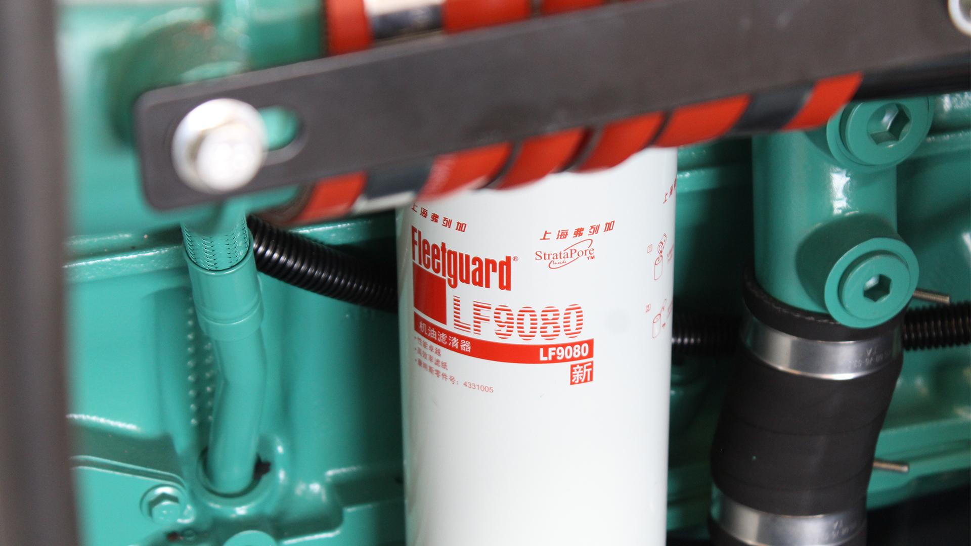 Fleetguard LF9080 filter on Cummins engine