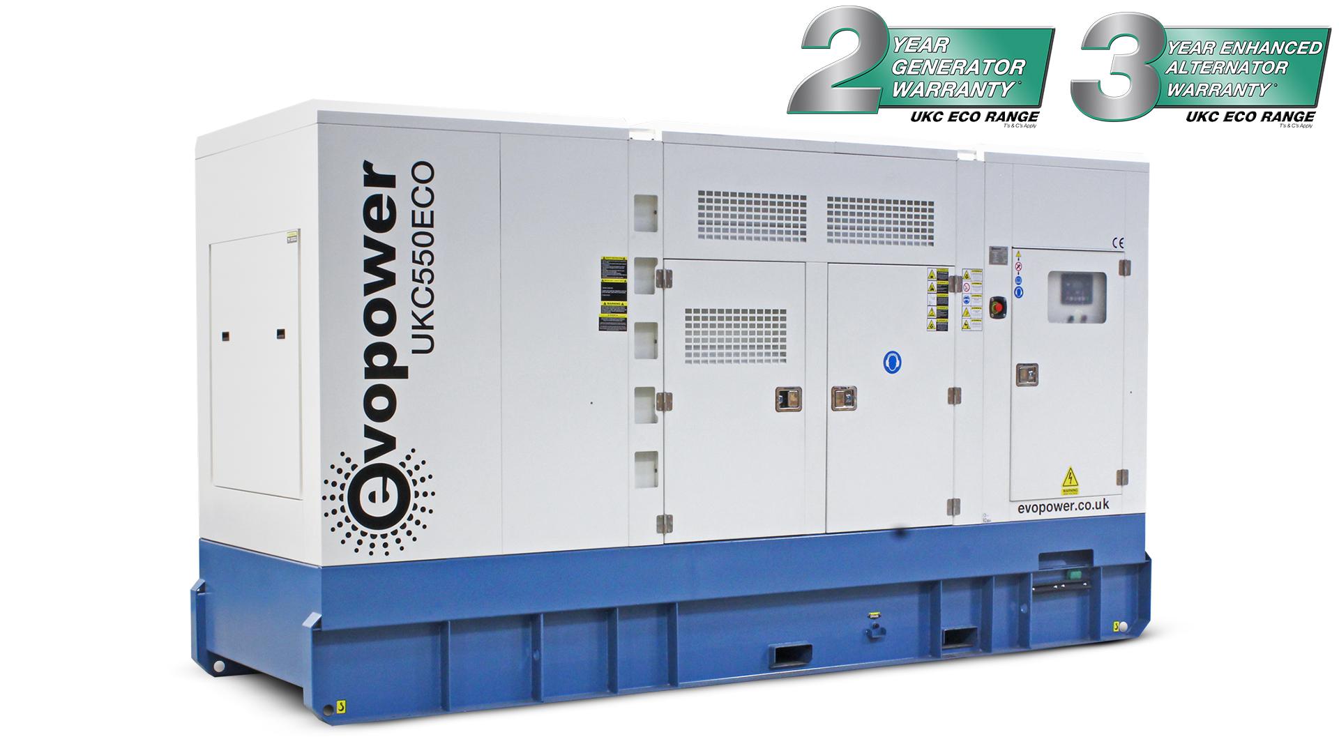 UKC550ECO 550kVA Diesel Generator Main Image