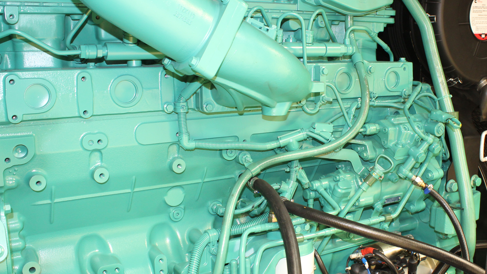 Cummins Engine Block, QSZ13 Diesel Engine in Generator