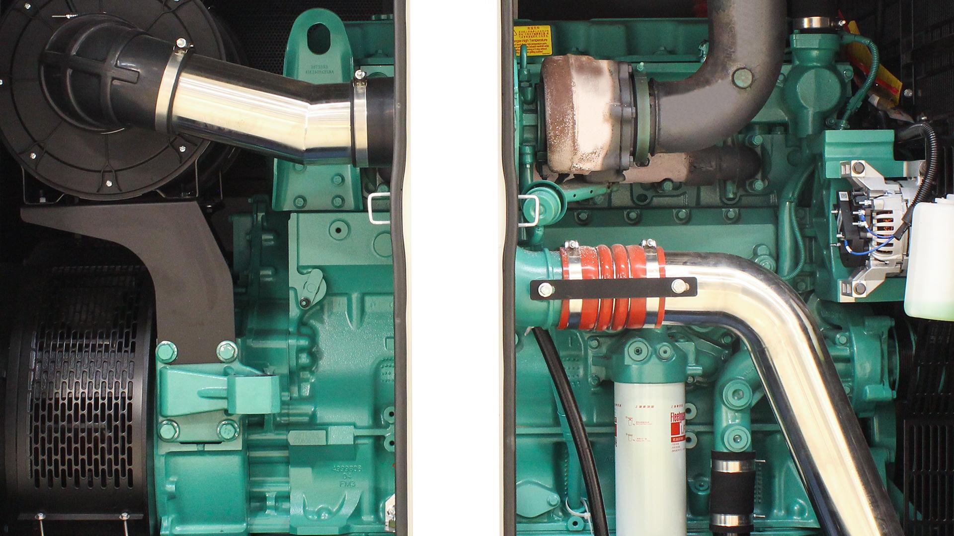 Cummins QSZ13 Engine installed in Evopower UKC550ECO