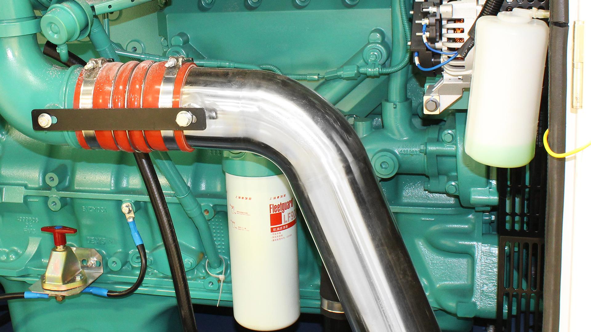 QSZ13 internal engine component from Cummins powered 550kVA generator