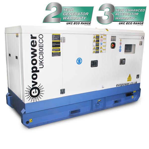UKC80ECO Diesel Generator Powered By Cummins