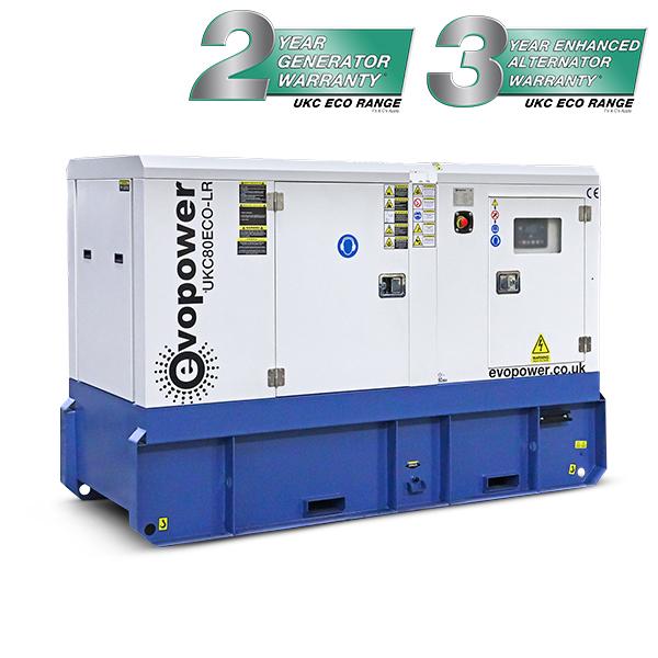 80kVA Long Run Diesel Generator