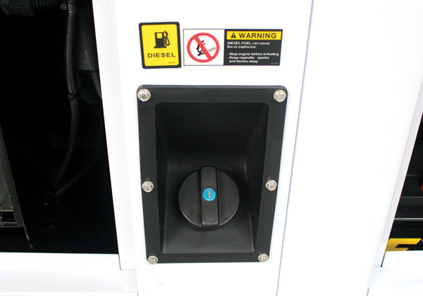Fuel Filler Cap on EVO9KSEM
