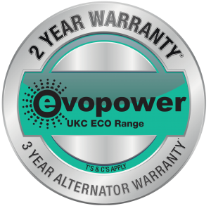 Evopower Cummins Powered Generator Warranty Emblem